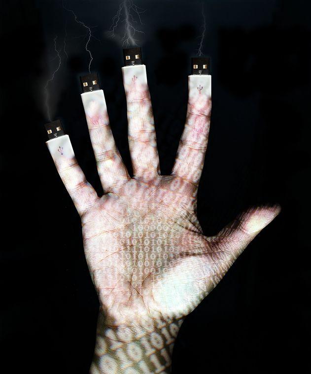 USB fingers…