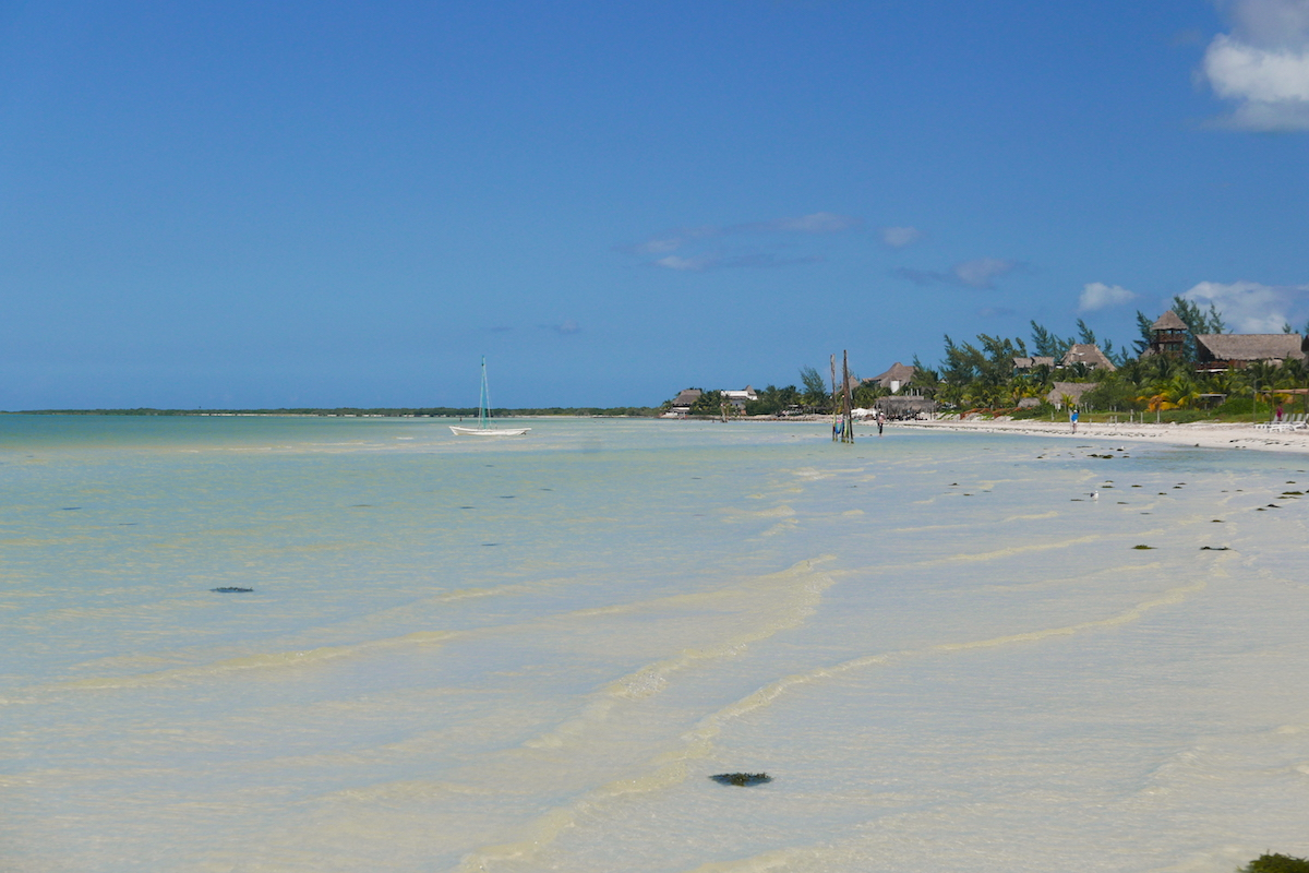 Long journey would take us to this paradise called Isla Holbox