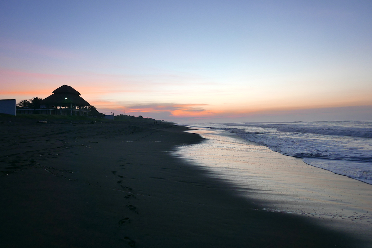 Sunrise at El Paredon