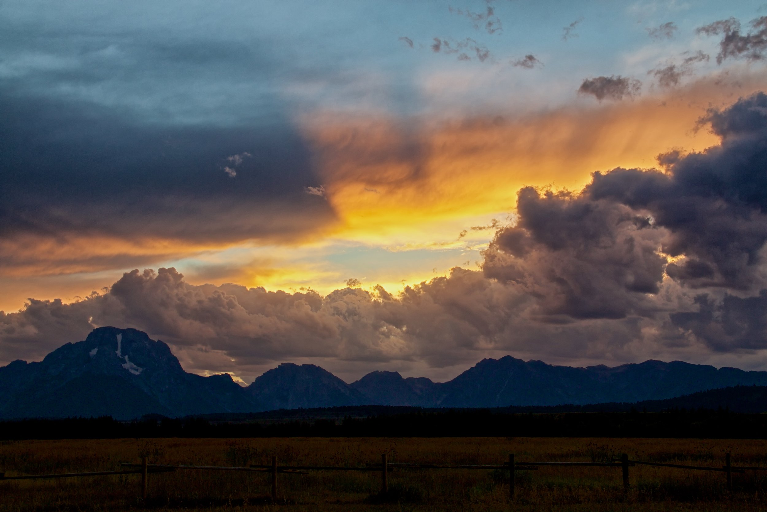 Grand Tetons Sunset - ©️Nicole Atkins