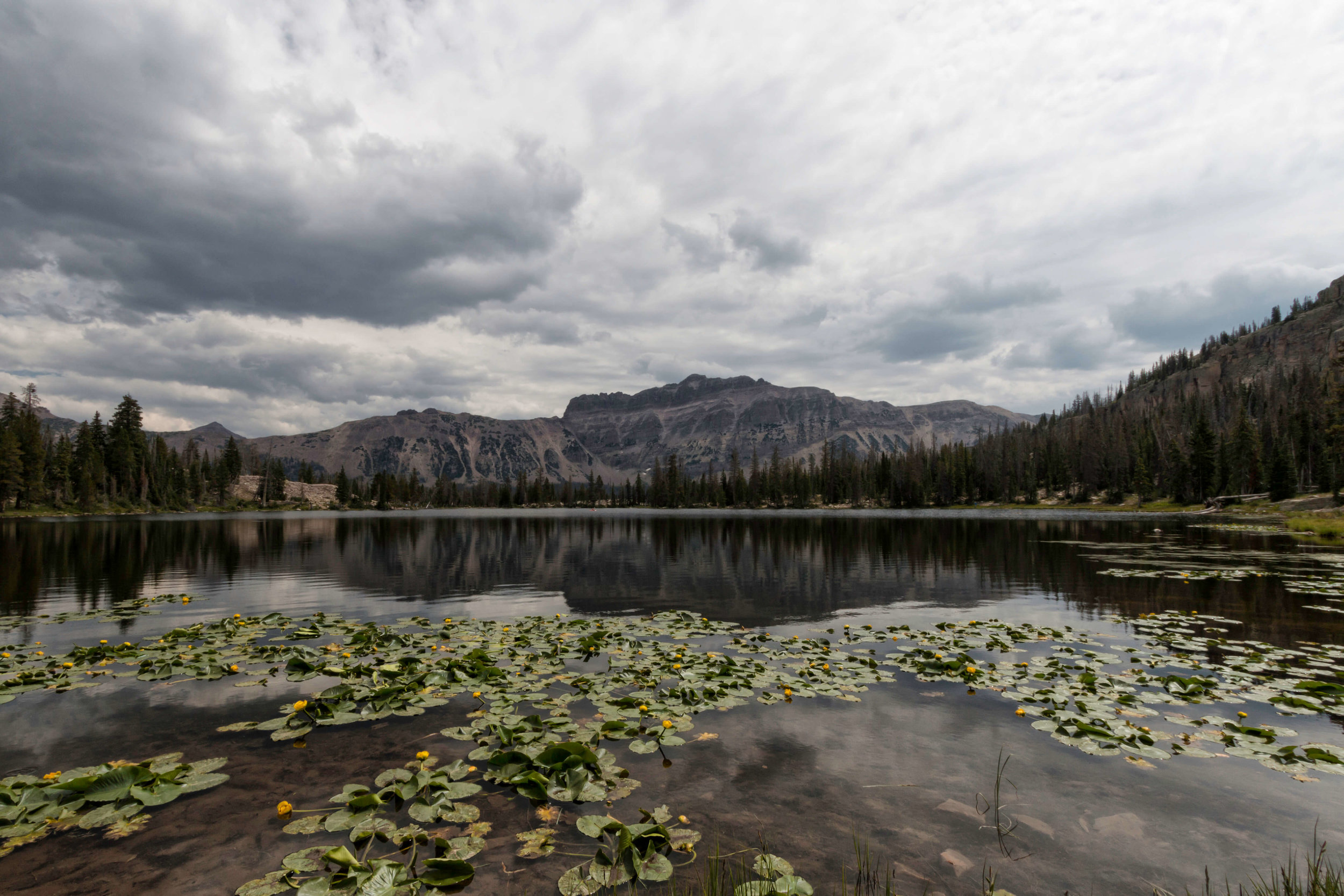 Ruth Lake in Uintas - ©️ Nicole Atkins