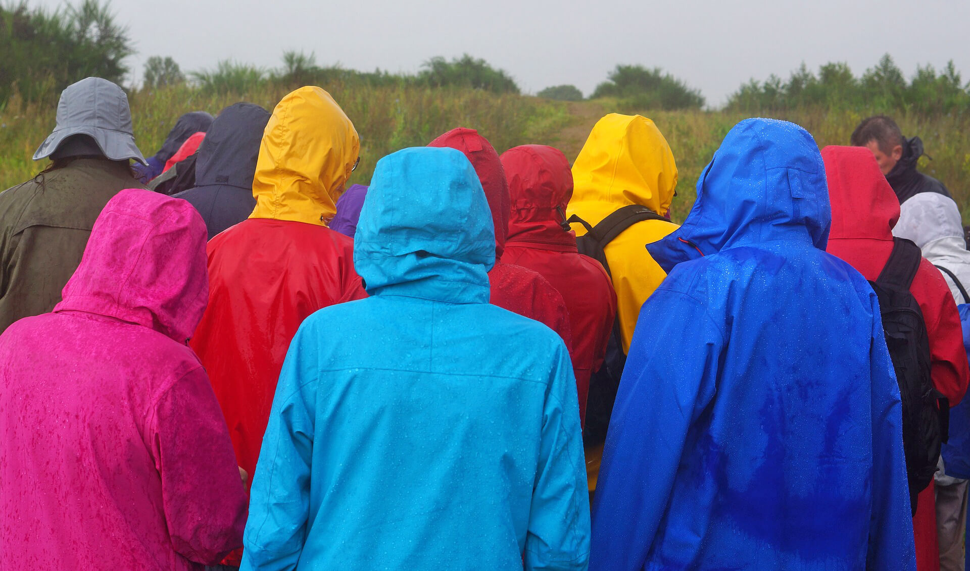 Jackets are a must for your waterproof hiking gear