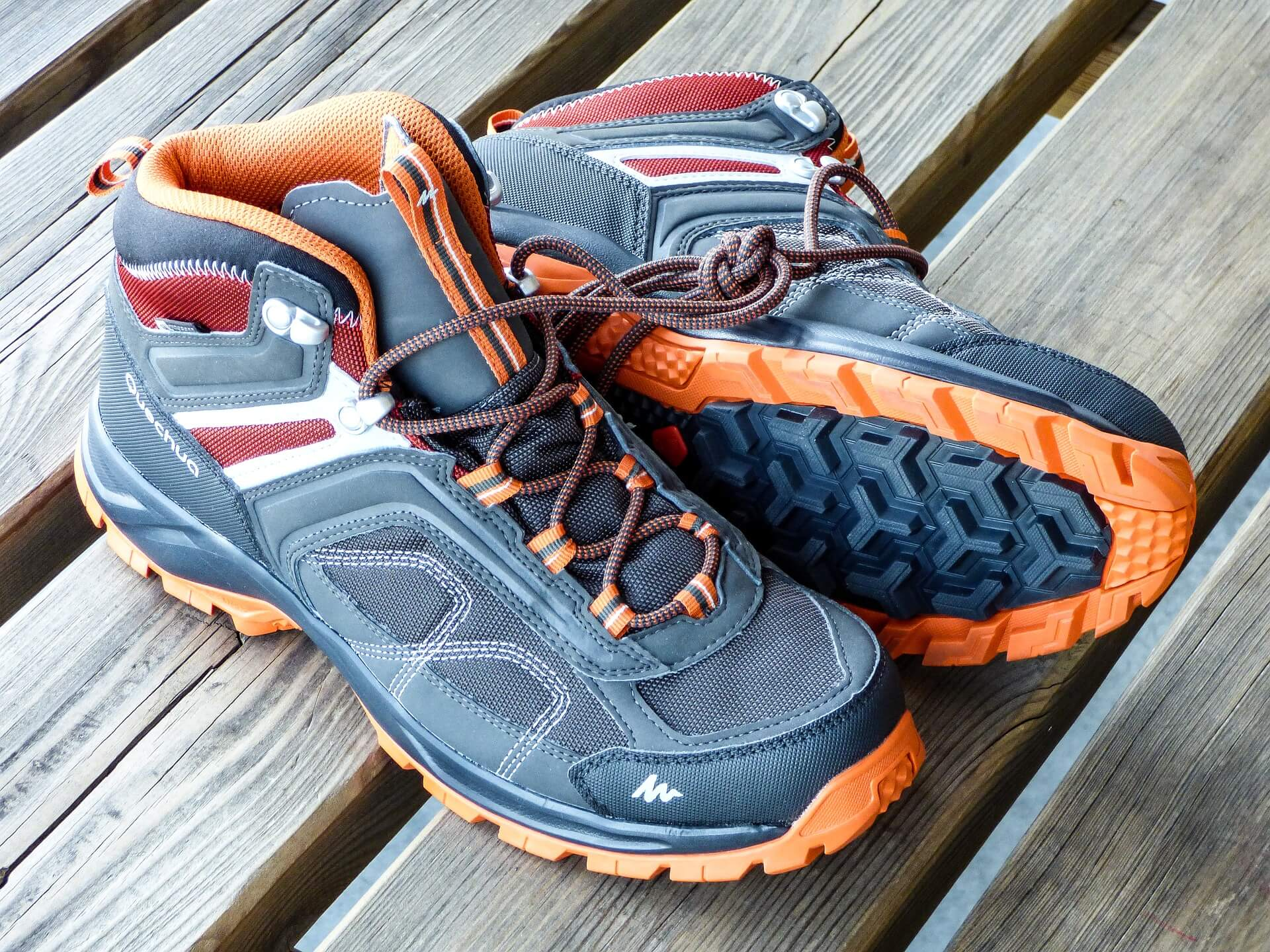 Add waterproof boots with gore-tex to your waterproof hiking gear