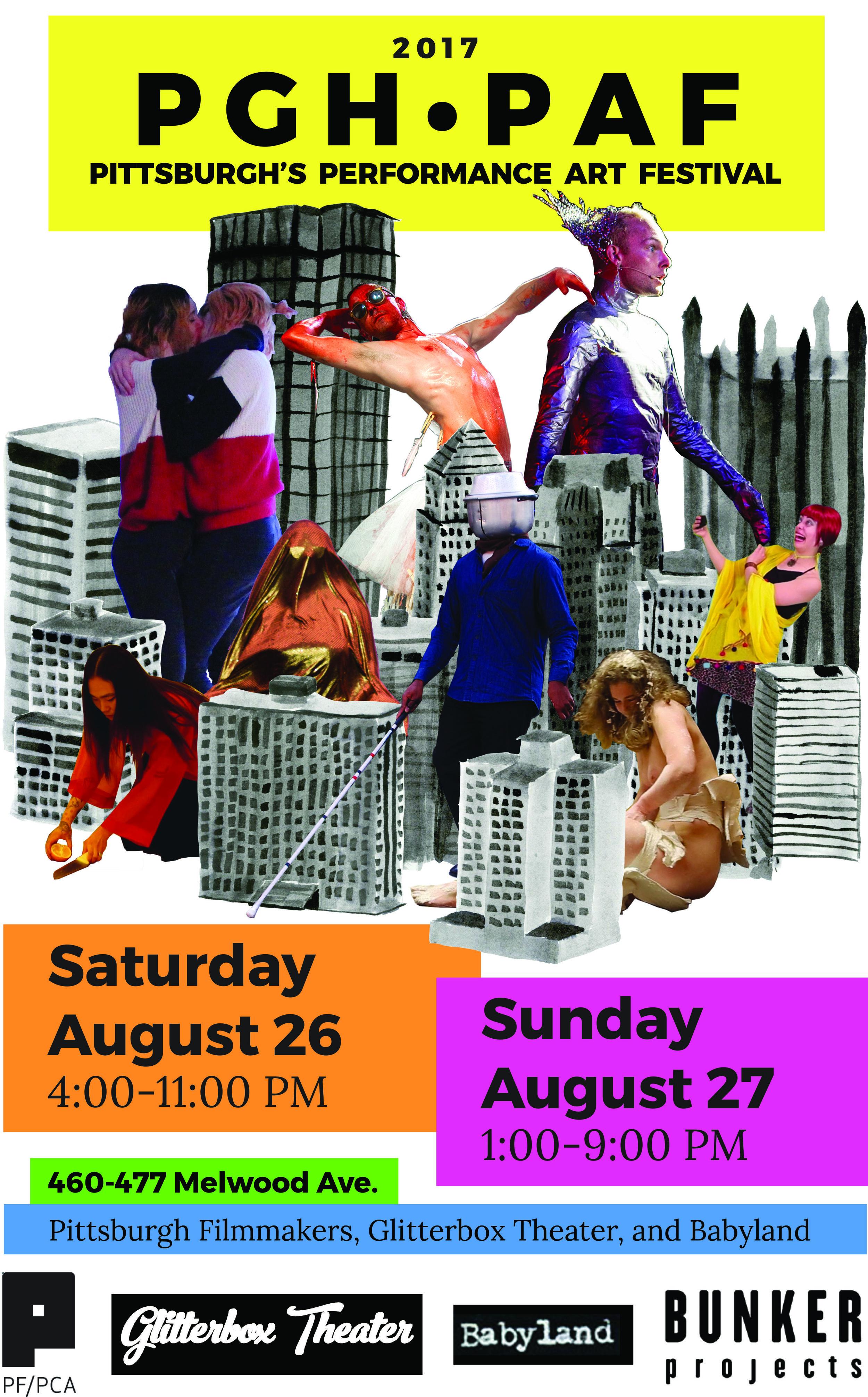Pittsburgh's Performance Art Festival 2017