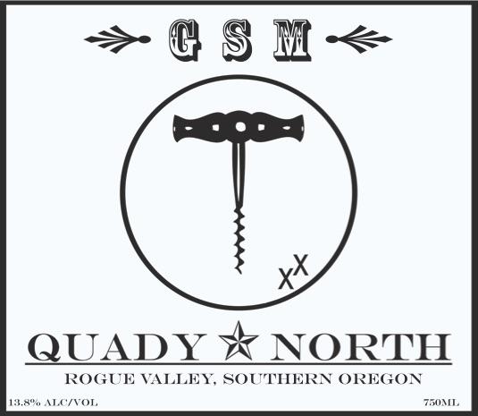 Quady North GSM label