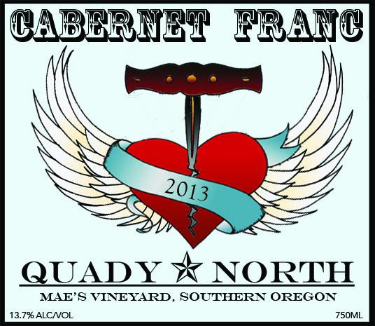 Quady North Cab Franc Mae's Vineyard label
