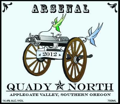 Quady North Arsenal label
