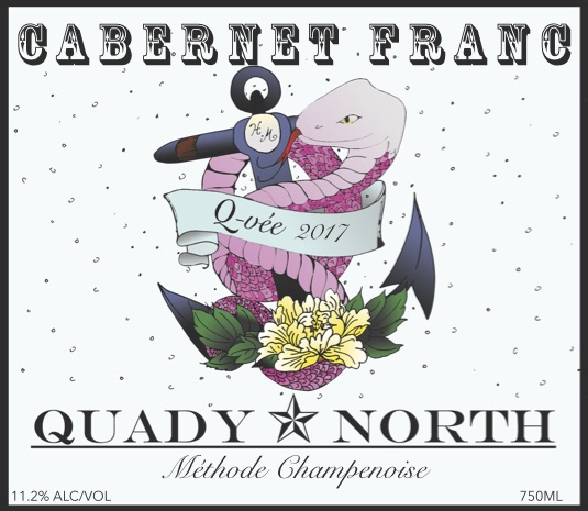 Quady North QVée label