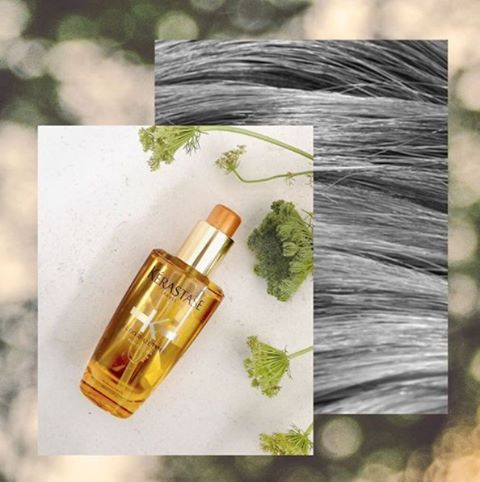Beautiful, shining, soft and delicately scented hair with just a few drops of Elixir Ultime Oil from @kerastase_official.  #BeautifulHair #ElixirUltime #hairsalonsydney #sydneystyle #mosman