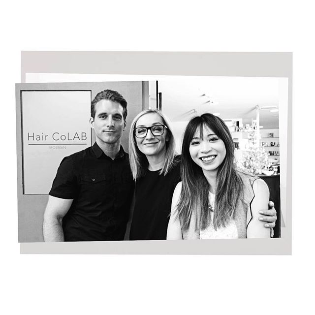 ....Hair CoLAB Dream Team... Find us in Albion lane, Mosman #haircolab #mosman #salon #creativeplayground #hairstylists