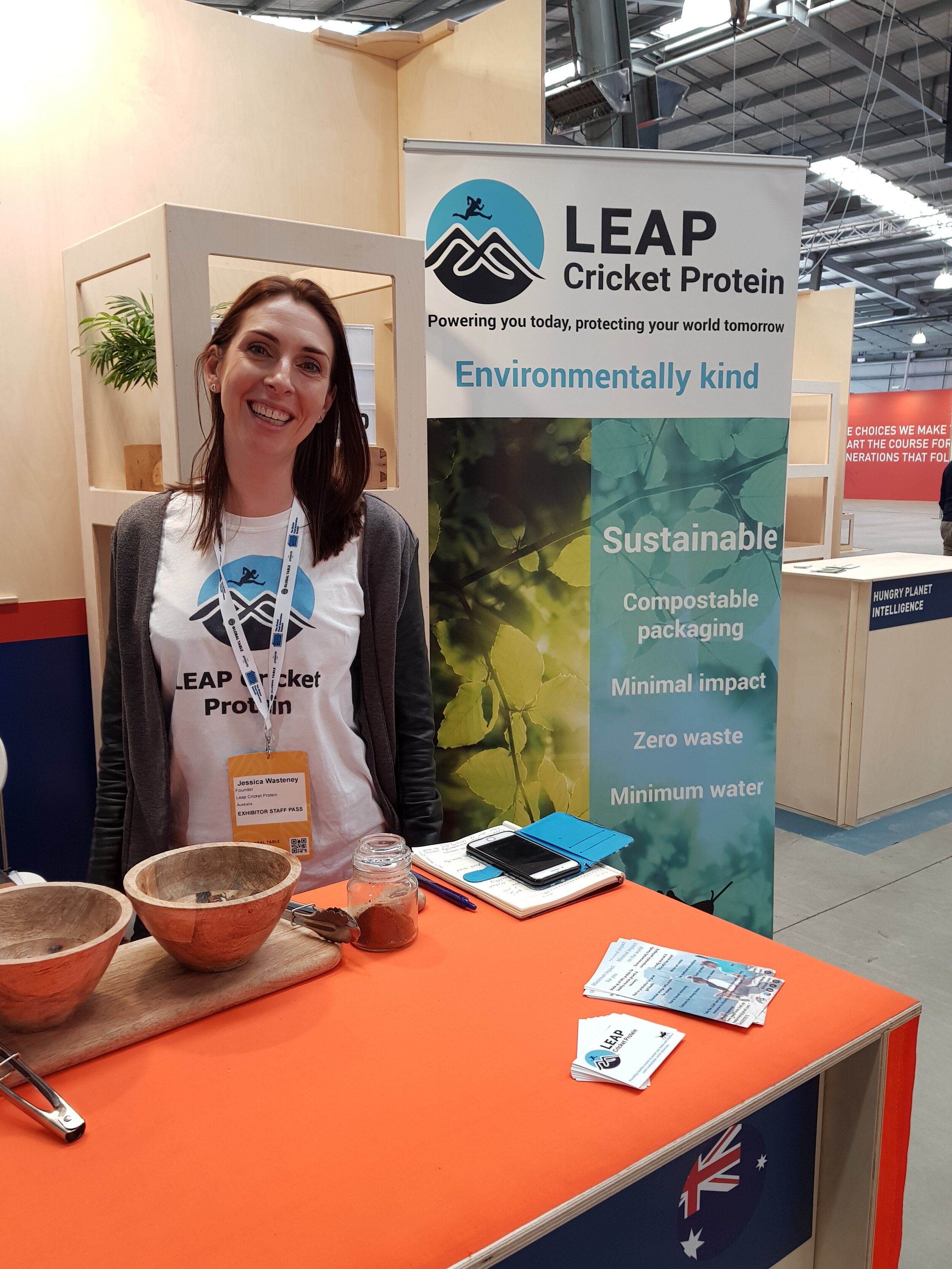 Jessica Wasteney, LEAP Protein at Global Table Australia Sep 2019