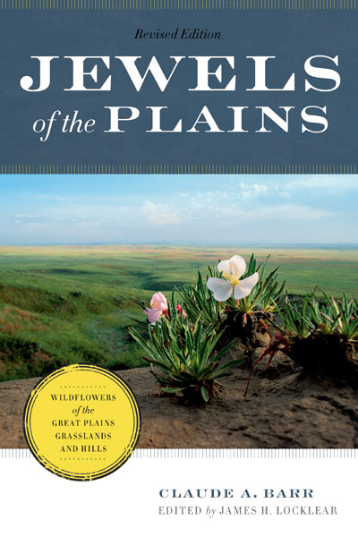 Michael's photo of an evening primrose above the North Platte river valley is the cover photo for the Jewels of the Plains book by Claude A. Barr.
