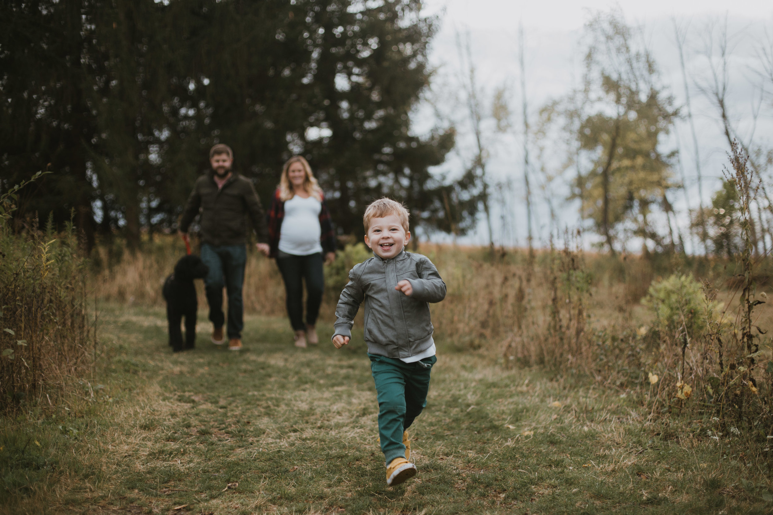 Fall Family Session in Waukesha