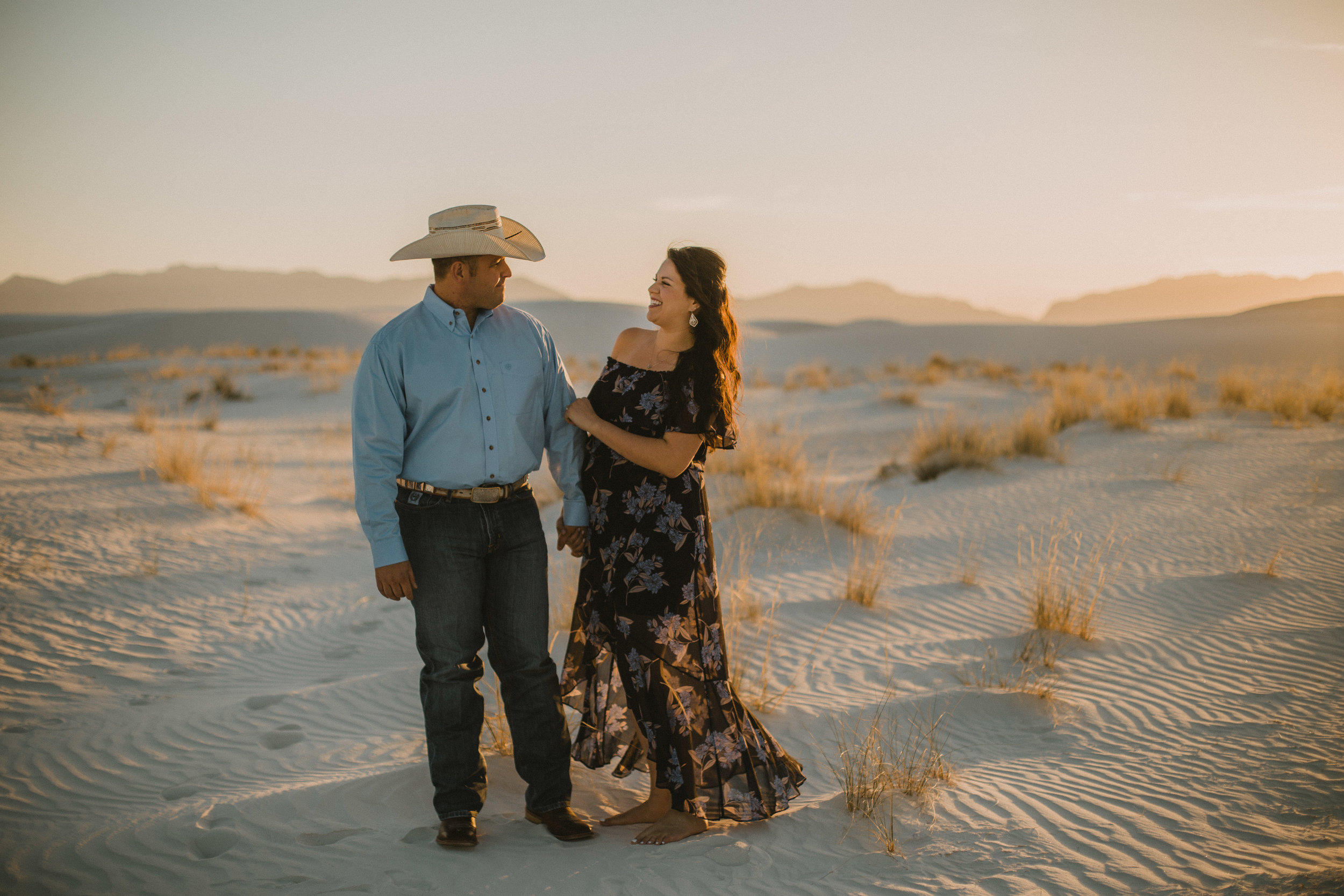 White Sands National Monument Engagement Photographer