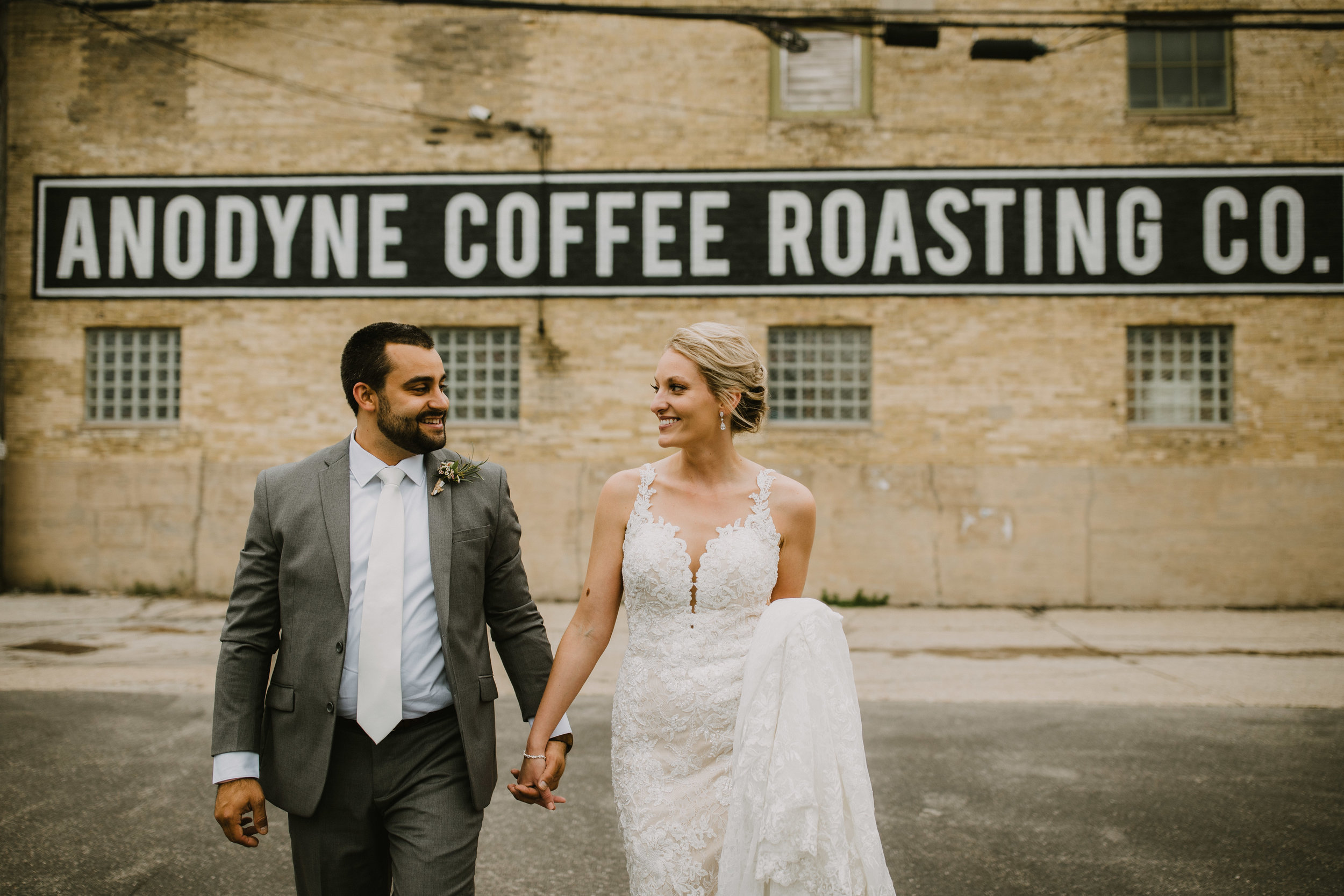 Anodyne Coffee Co. Wedding in Milwaukee
