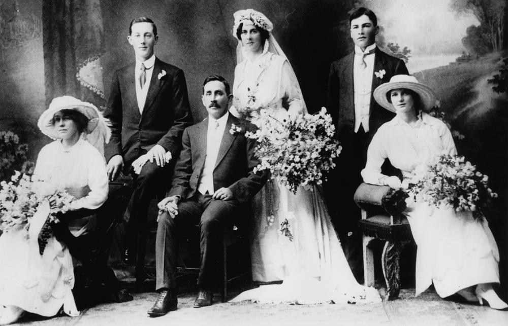 Robinson/Drynan Wedding - 1917. Trends come and go but style is as timeless as the love you share with your partner.