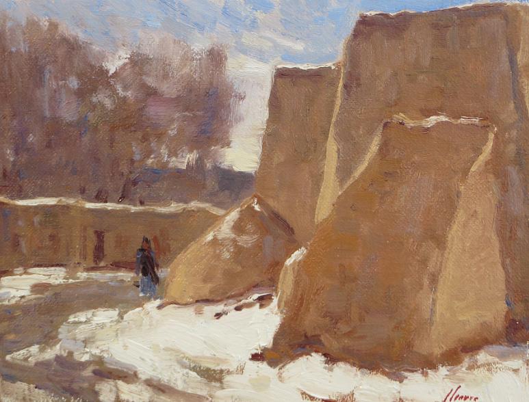 Winter at Ranchos De Taos