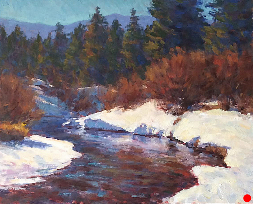 Glacier Creek Winter