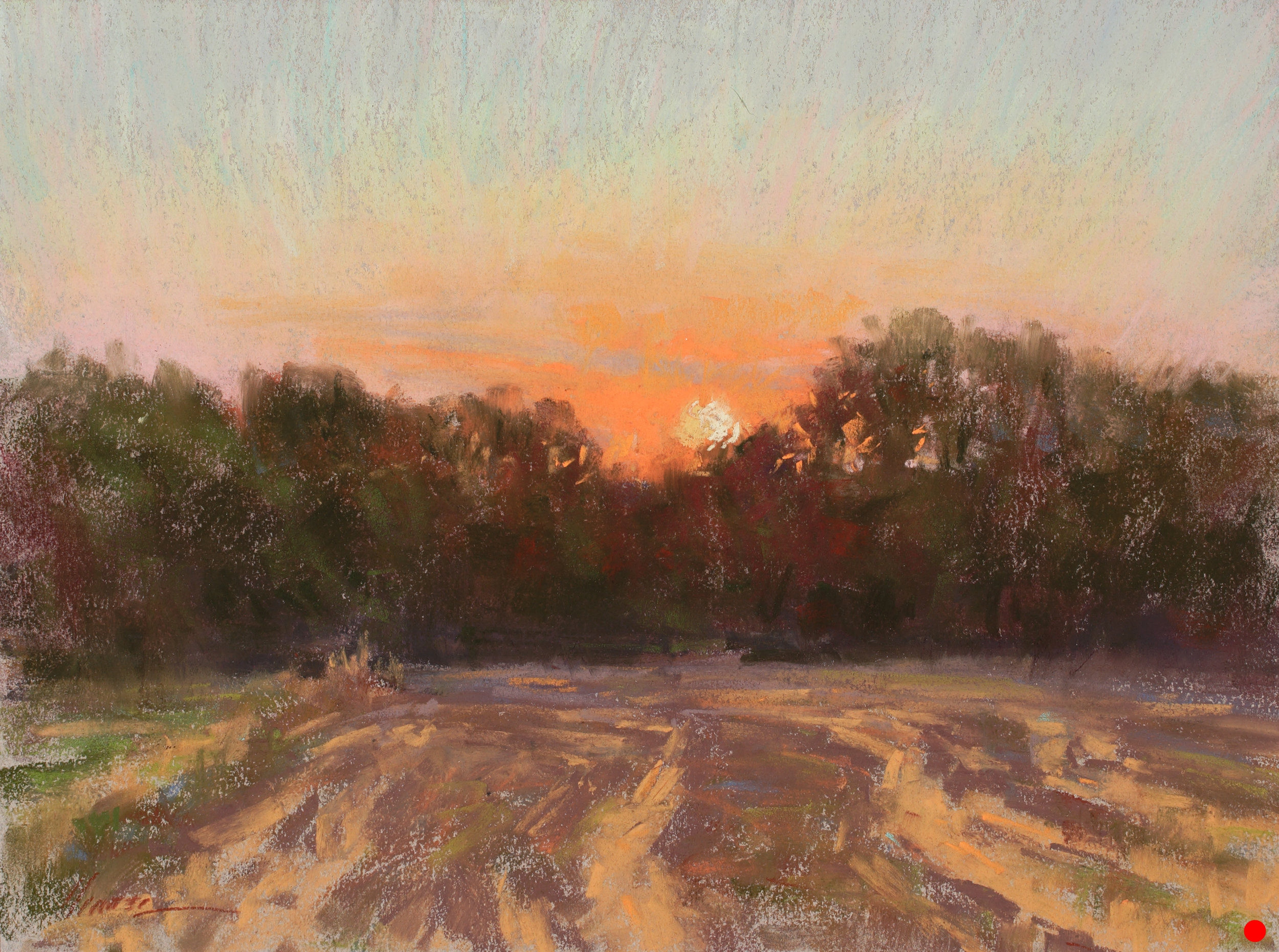 Prairie Sundown-SOLD