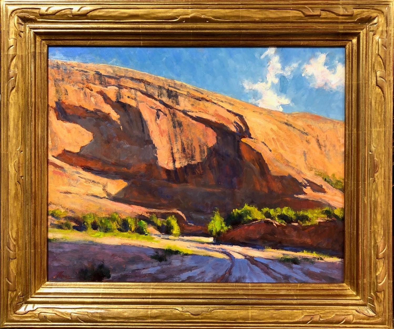 Shadows On The Mesa Oil 16 x 20 107th Gold Medal Exhibtion.jpg