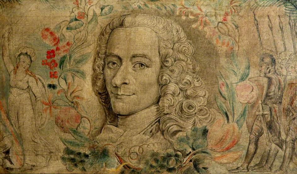 Voltaire, by William Blake