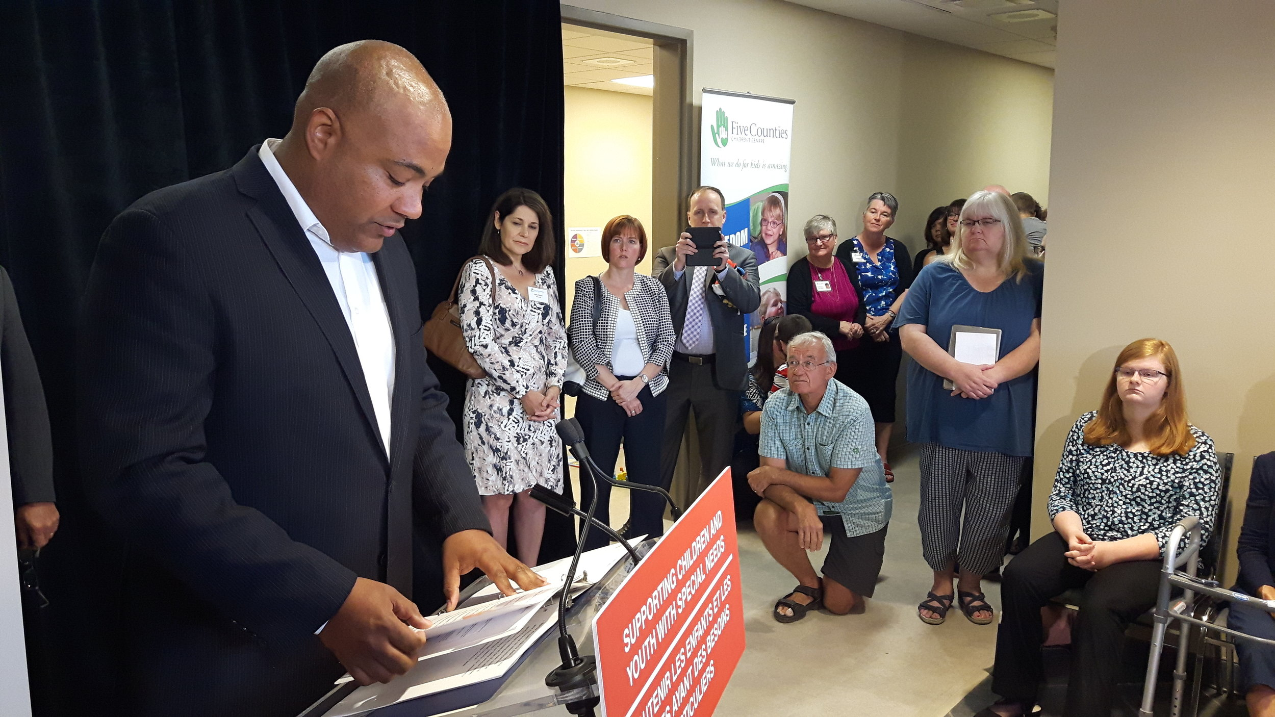 Minister Coteau opens 5 Counties 20170828_093830.jpg