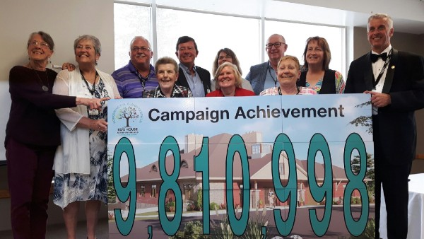 Community Care Northumberland's board of directors is delighted to celebrate the successful fundraising campaign for the Ed's House Northumberland Hospice Care Centre.