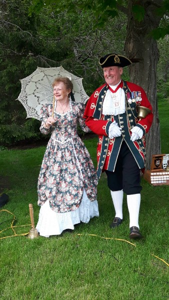 Best Couple Award - Bruce Kruger of Bracebridge and his wife Lynn