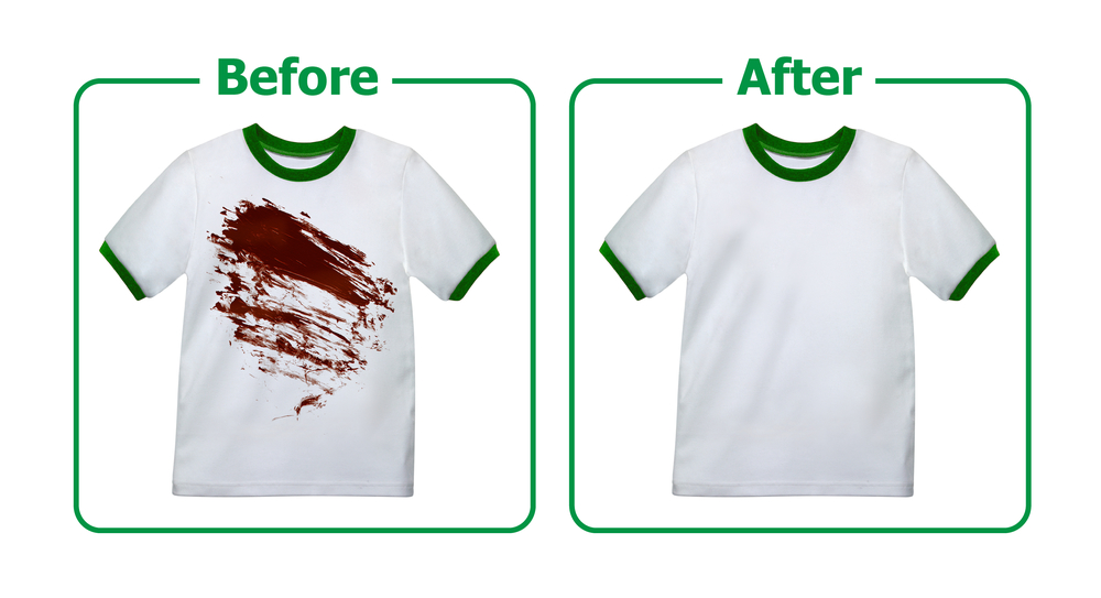 Stains Removed from Kid's Clothes