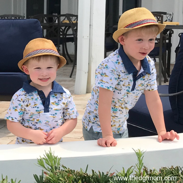I am so lucky to have such adorable hat wearing boys!