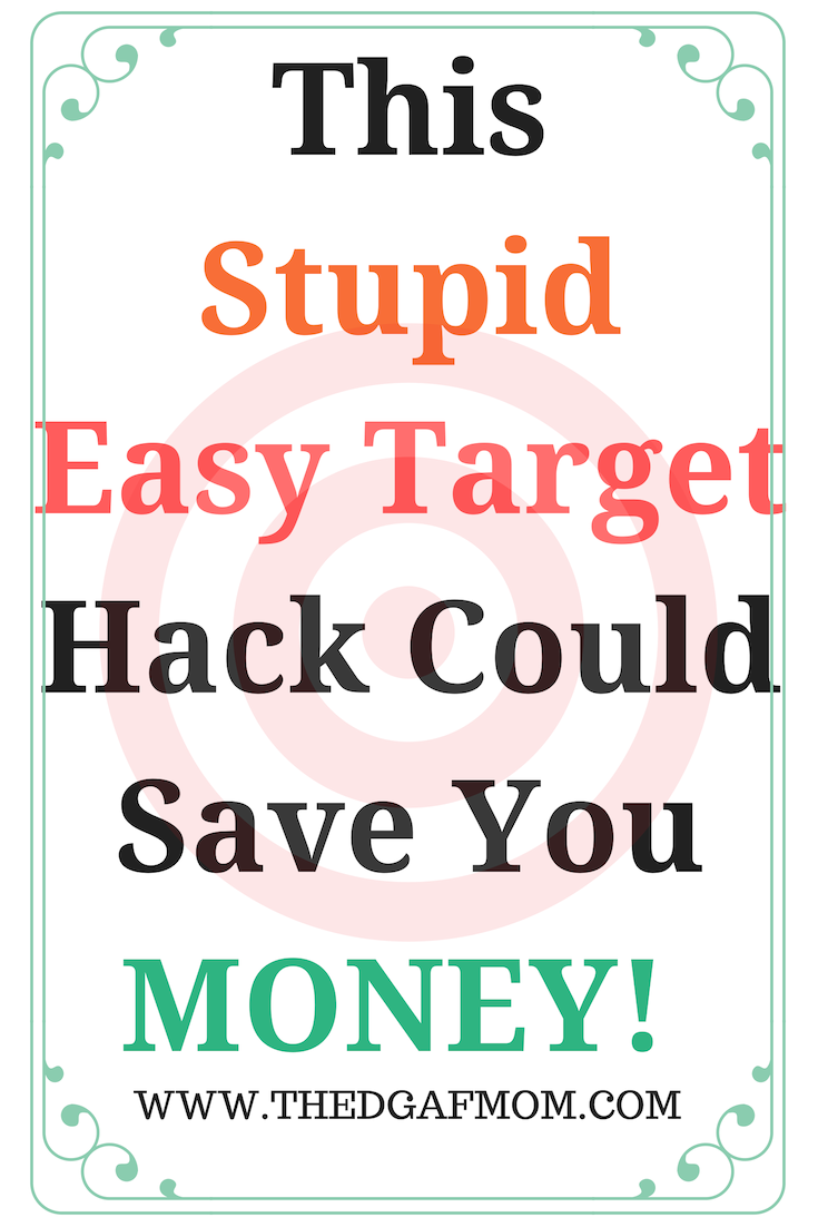 Saving money at Target can feel impossible but it doesn't have to be. This ridiculously stupid easy hack can help you keep your money in your bank account.