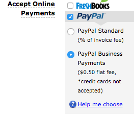 Paypal Accepting Images via Freshbooks for Freelance Writing Jobs