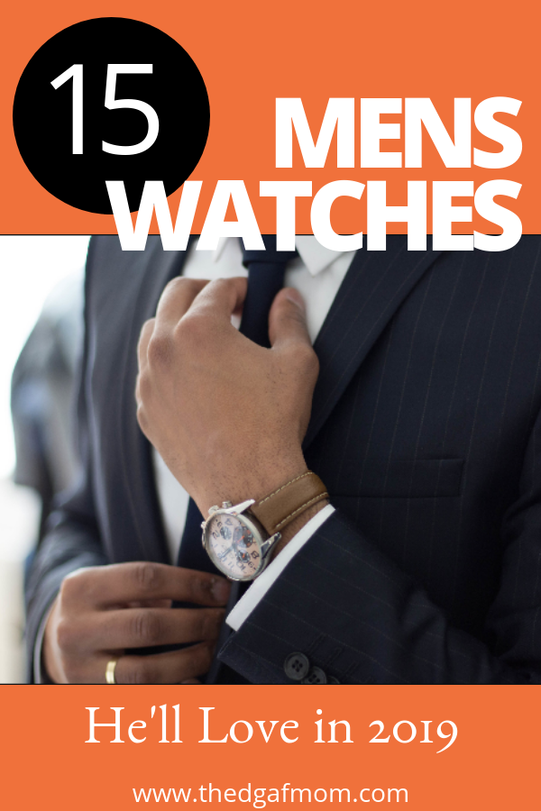 If you're looking to buy a men's watch this ultimate watch buying guide will help you narrow down all the different men's styles and watch prices. You can find the perfect gift for a man in your life, or get something for yourself! Buying a mans watch online is easy with this watch gift guide.