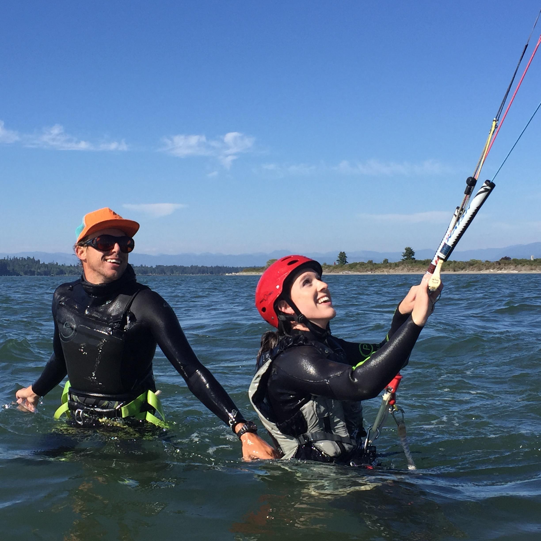 Urban Surf Kiteboarding Shallow Water Lesson 2