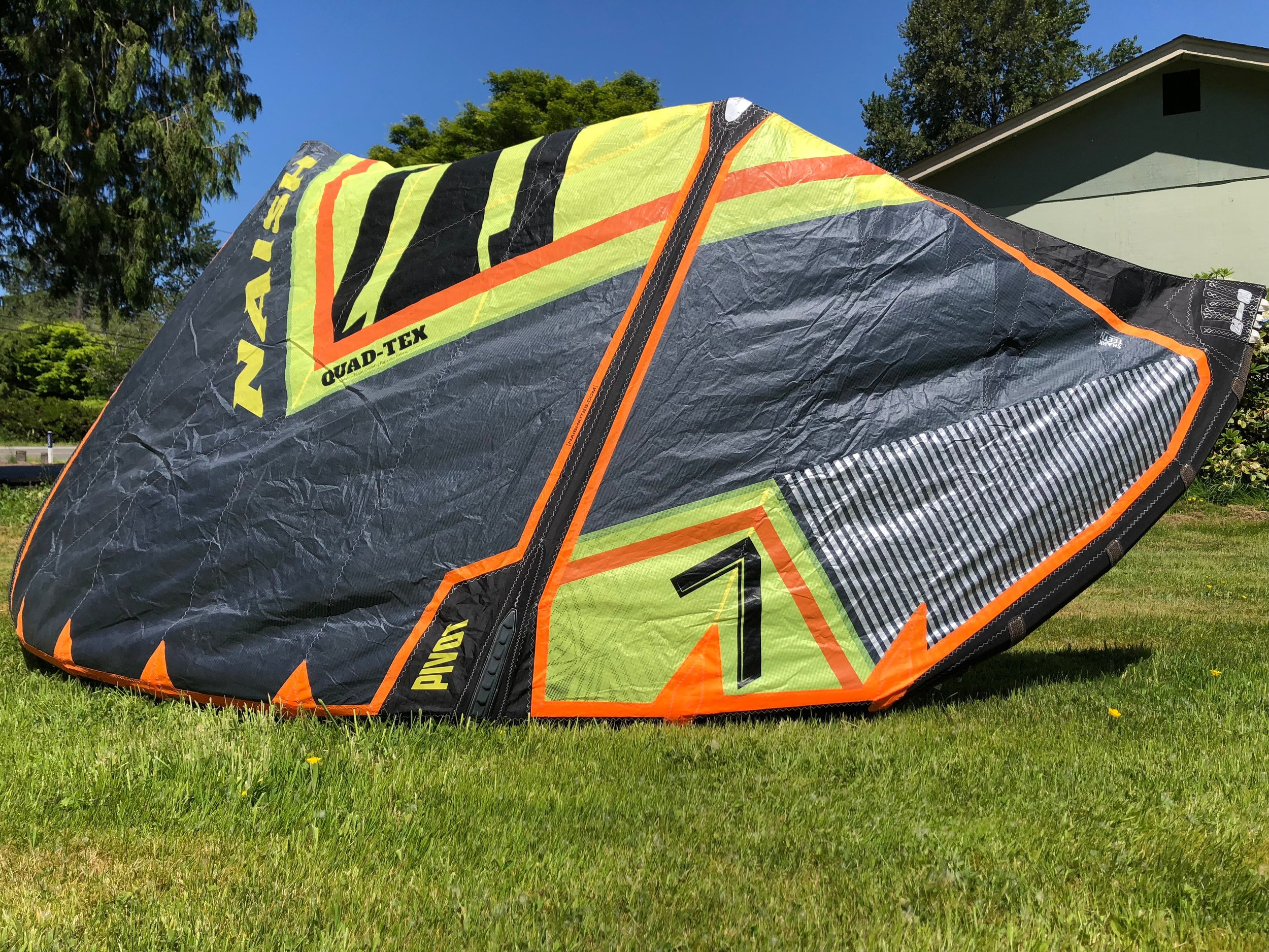 Naish Pivot 7m 2018 - $575 Used / Like New - The Pivot is one of Naish Kiteboarding's most popular kites because it is so well rounded and suits almost any rider and riding style. Flies fast and pivots for sharp turns, it has become
