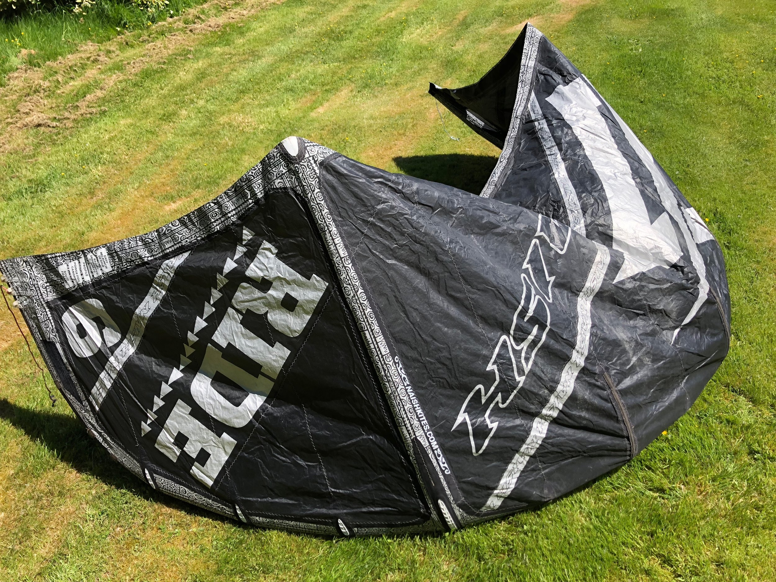 Naish Ride 2013 6m -$200 - Naish Ride is a 2 strut canopy and is very strong and stable for a 6m used in higher winds. .