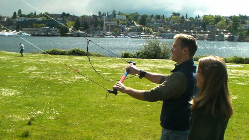 First Kiteboarding Training in Seattle  Level 1 Ground Course : Sunday Morning Group