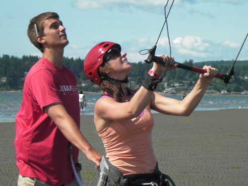 First Kiteboarding Training in Seattle  Level 1 Ground Course : Custom Availability