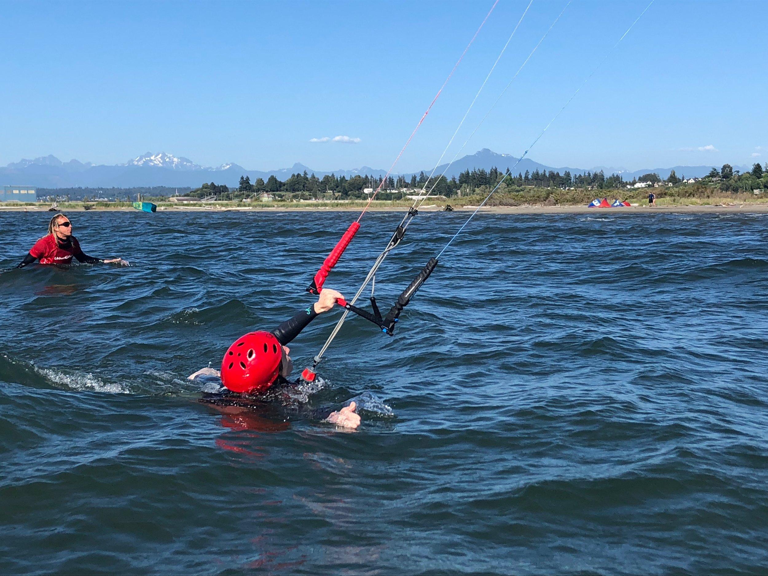 Kiteboarding Lesson with Urban Surf Kiteboarding