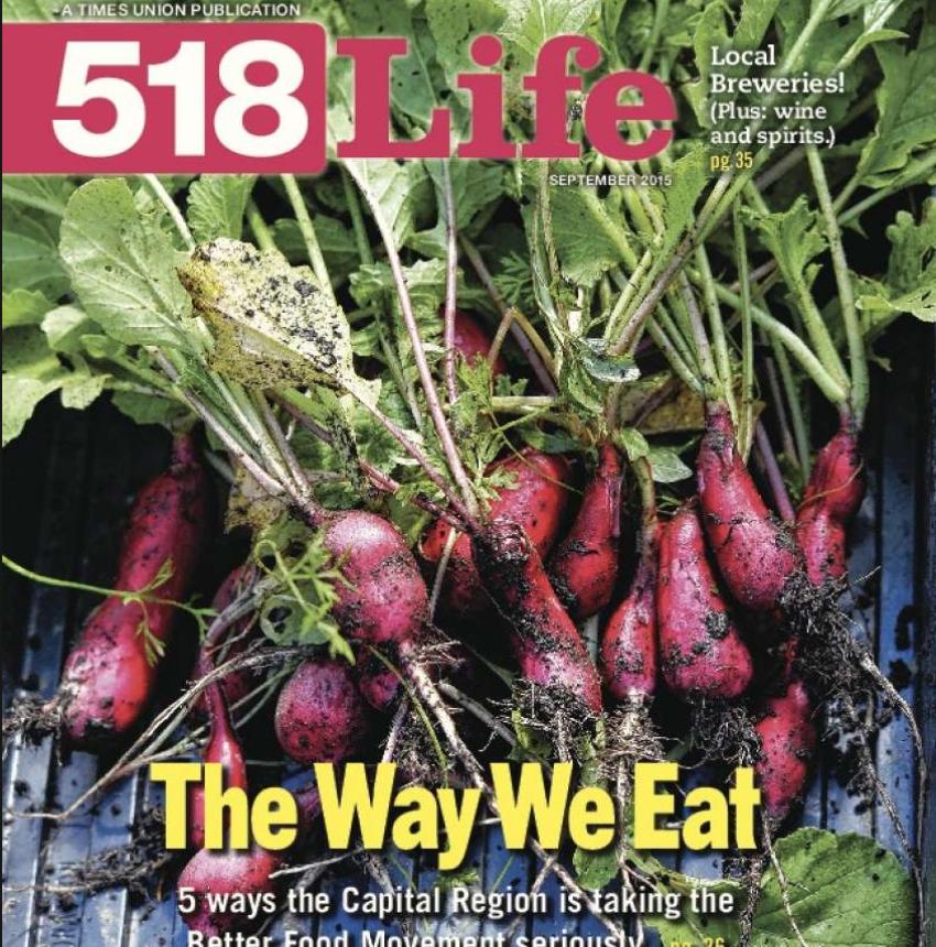 Editor of 518Life Magazine (Albany Times Union)