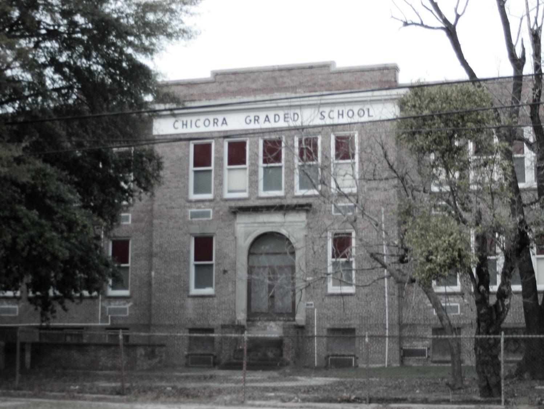 Original 1935 Wing of the School.