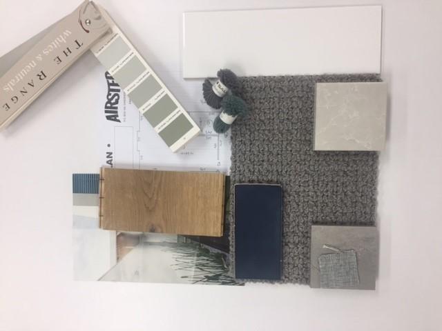 Greys, Blues & Whites with Stone & Wood... -