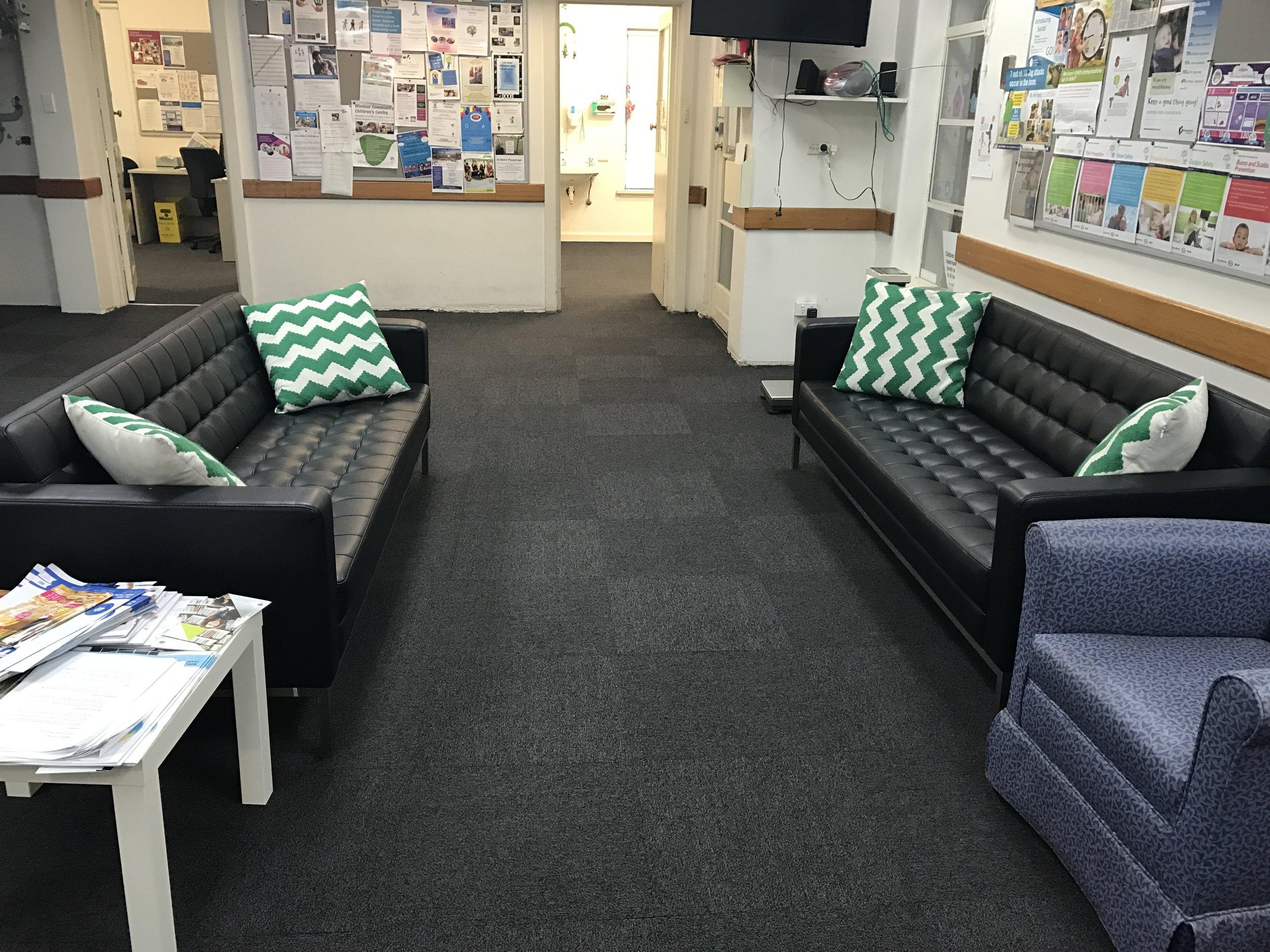 Health Centre - Carpet tiles