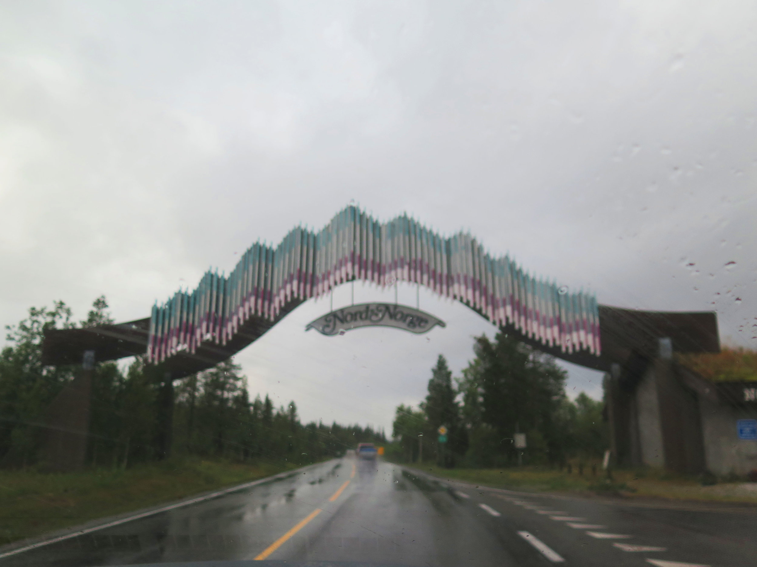Passing through the Nord Norge