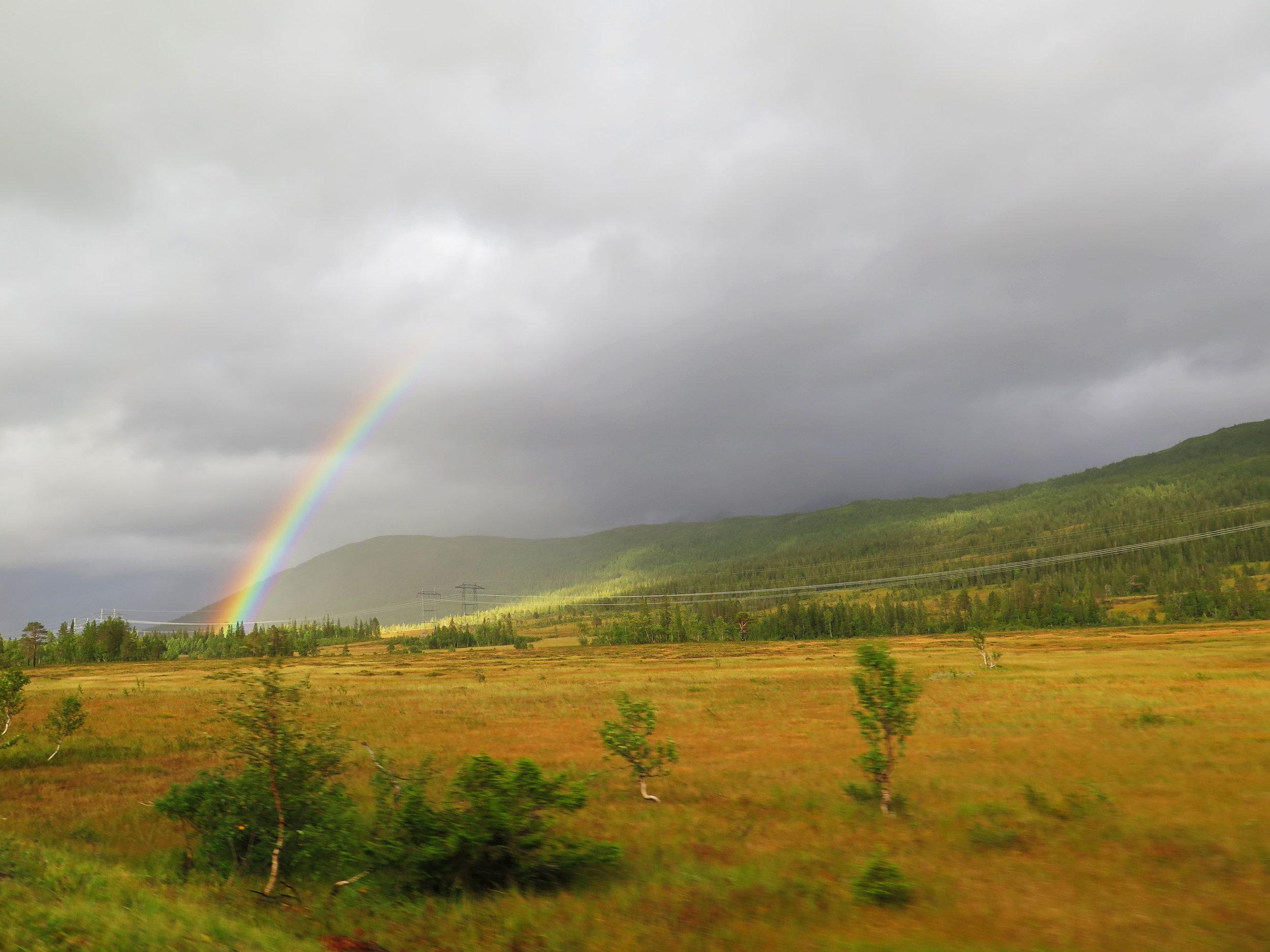 rainbow sighting