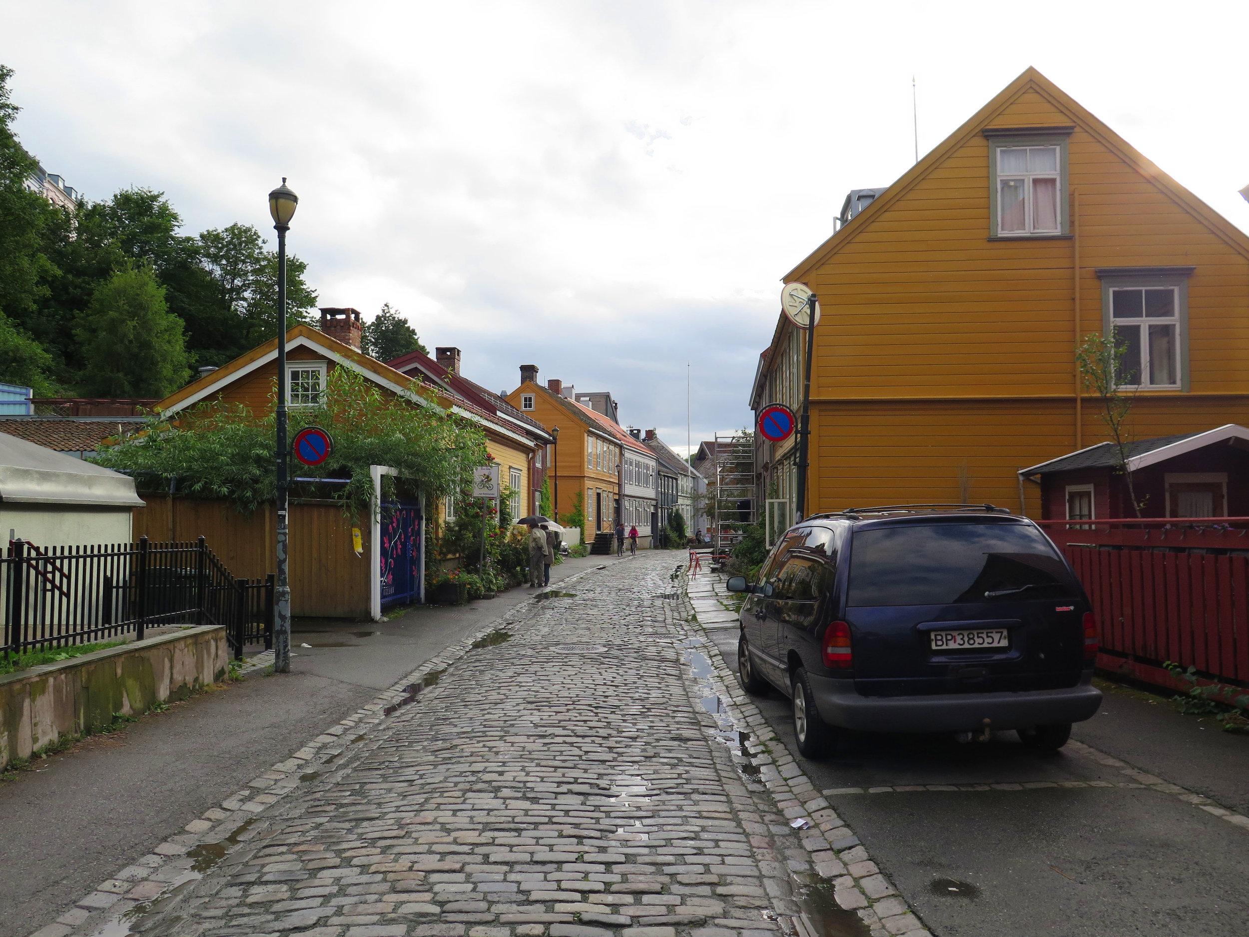 backstreets of Trondheim
