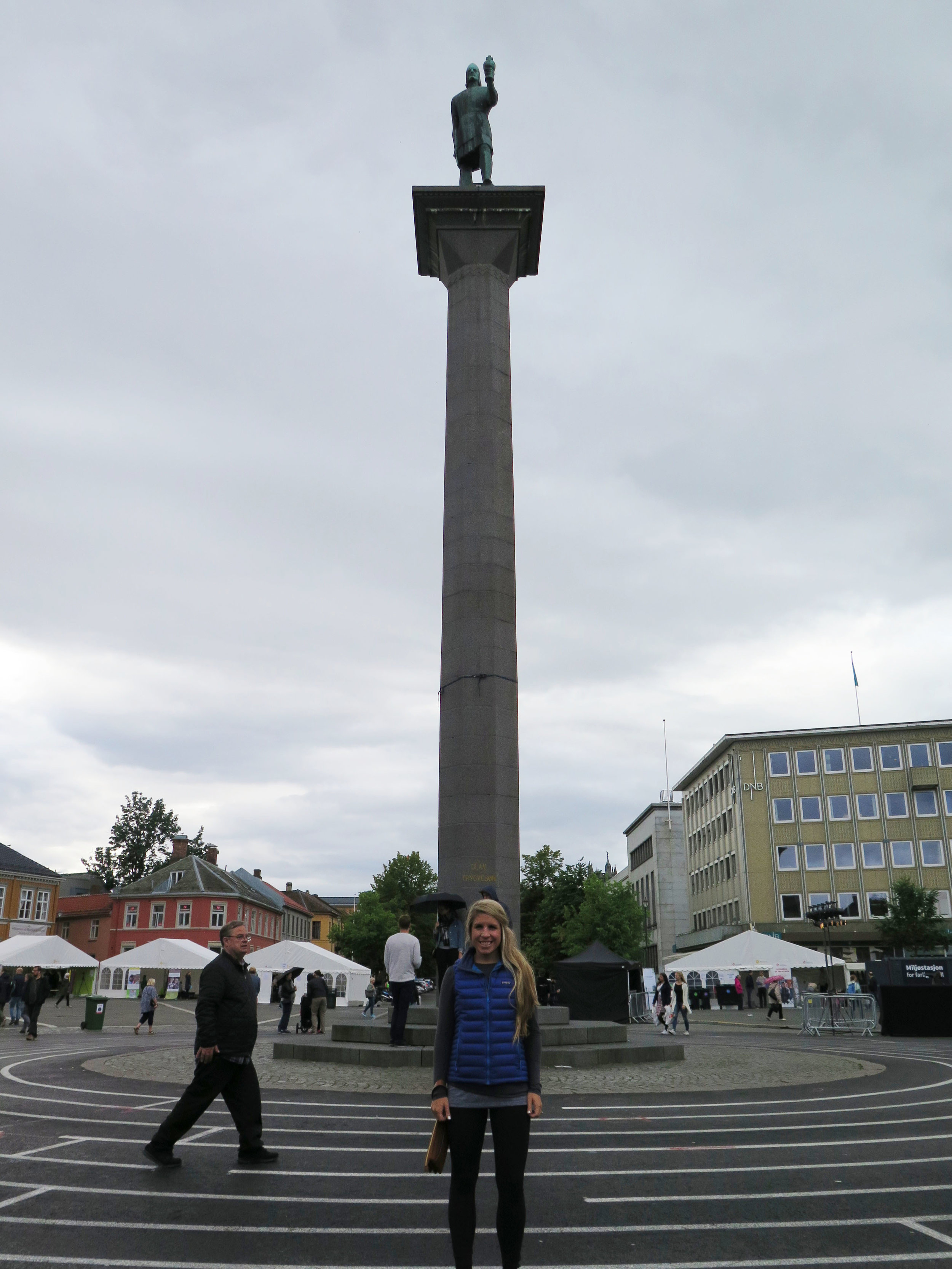 Picture in the town square
