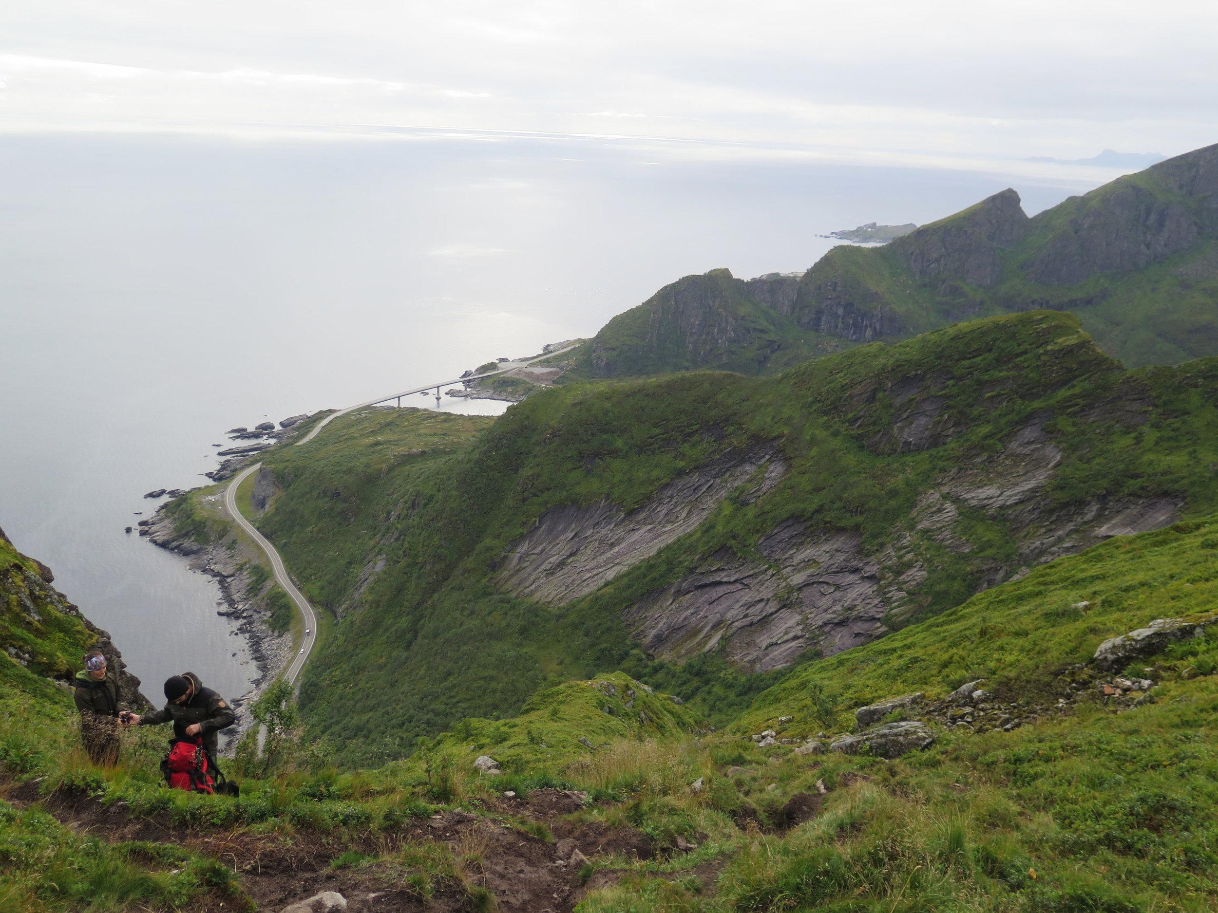 Reinbringen backside view (hike side)