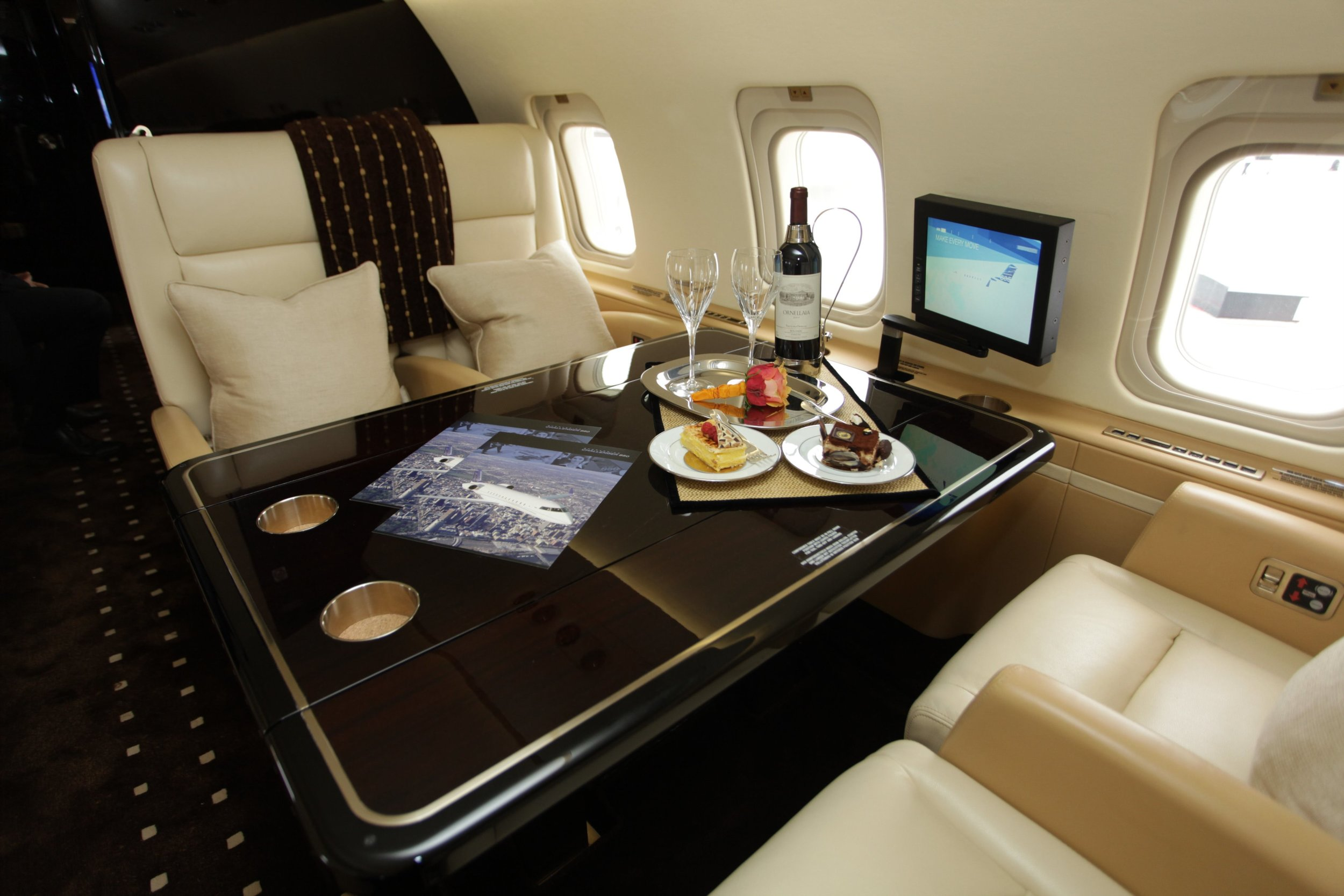 The Gulfstream G650 will fly you in VIP luxurious style