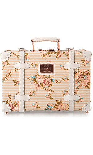 Floral Small Suitcase